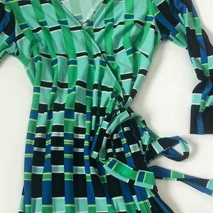 SOHO apparel wrap dress. S